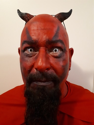 Face Painting - Demon