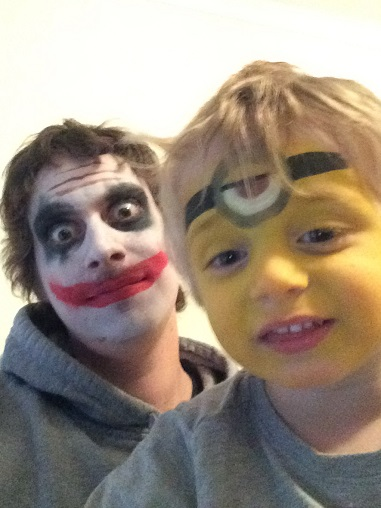Face Painting - Joker and Minion