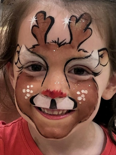 Face Painting - Rudolph