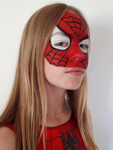 Face Painting - Spidergirl