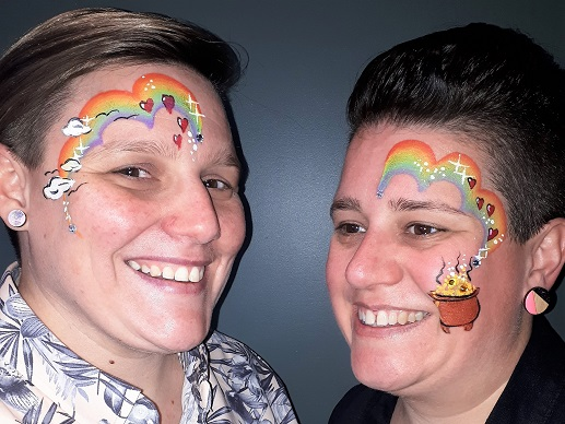 Face Painting - Rainbows