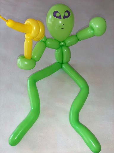 Balloon Art - Alien