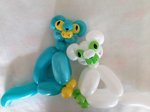 Balloon Art - Cats